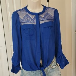 Longsleev blouse  button down long sleeved blouse